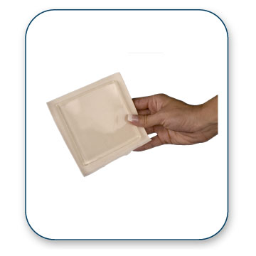 "Bunga Blister Cushion - 4"" Sq. Gel only"